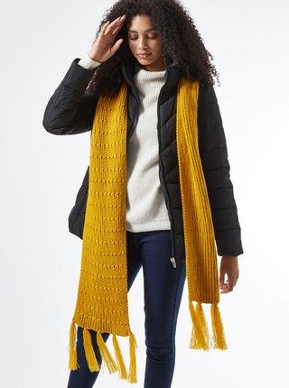 Žltý šál Dorothy Perkins