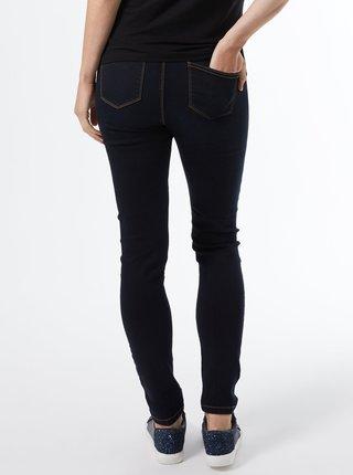 Tmavě modré těhotenské skinny fit džíny Dorothy Perkins