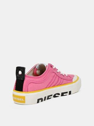 Ružové dámske tenisky Diesel