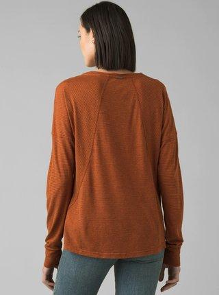 Hnedé tričko prAna