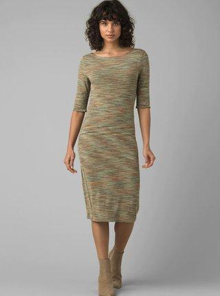 Zelené obojstranné šaty prAna