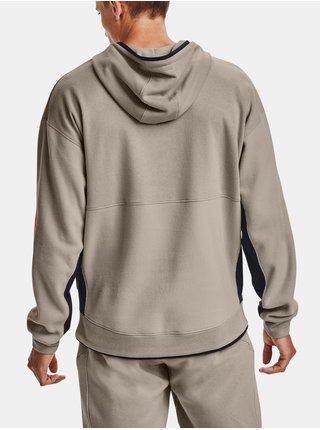 Hnědá mikina Under Armour UA 12/1 Pack Hoodie
