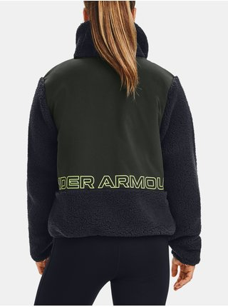 Černá bunda Under Armour UA LEGACY SHERPA SWACKET