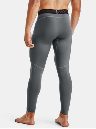 Šedé legíny Under Armour UA RUSH HG 2.0 Leggings