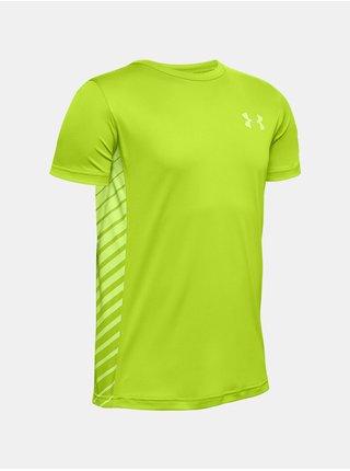 Zelené tričko Under Armour UA MK1 SS
