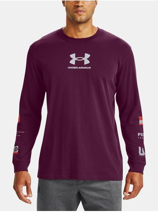Tričko Under Armour UA MULTI LOGO LS-PPL