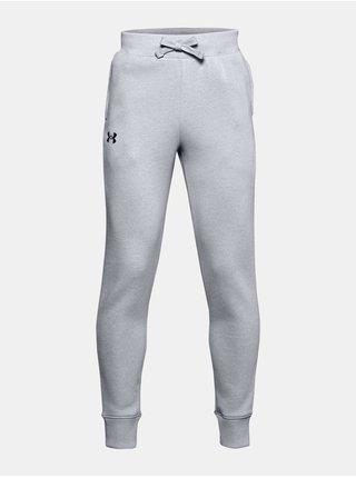 Šedé kalhoty Under Armour RIVAL COTTON PANTS