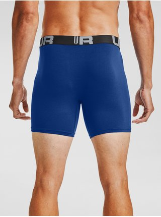 Boxerky Under Armour UA Charged Cotton 6in 3 Pack-BLU
