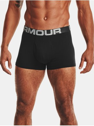 Černé boxerky Under Armour UA Charged Cotton 3in 3 Pack