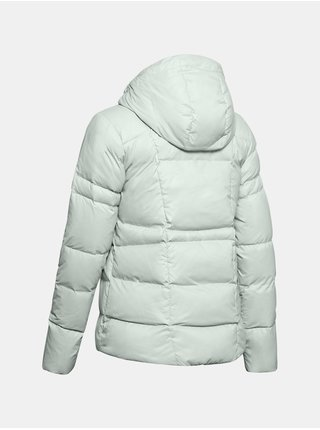 Šedá bunda Under Armour UA Armour Down Hooded Jkt