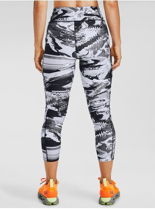 Černé legíny Under Armour UA HG Armour Prt Ankle Crop