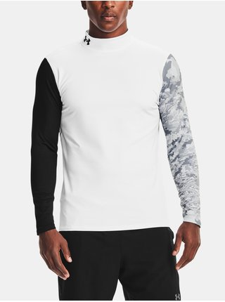 Tričko Under Armour UA Armour CG Print Mock-WHT