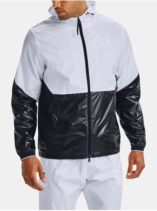 Bílá bunda Under Armour UA Recover Legacy Windbreakr