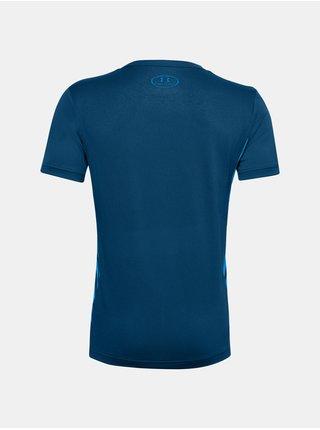 Modré tričko Under Armour UA MK1 SS