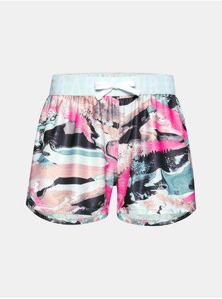 Modré kraťasy Under Armour Play Up Printed Shorts