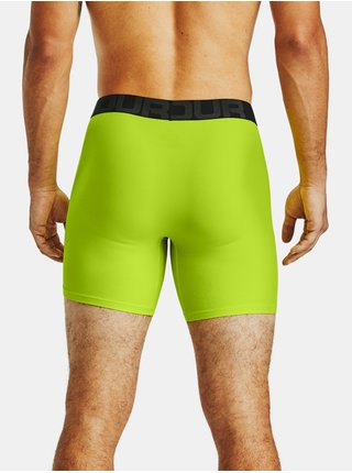 Zelené boxerky Under Armour UA Tech 6in 2 Pack