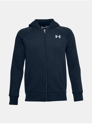 Mikina Under Armour RIVAL COTTON FZ HOODIE
