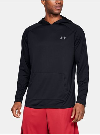 Černé tričko Under Armour Tech 2.0 Hoodie