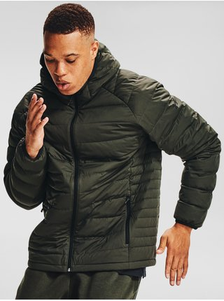 Zelená bunda Under Armour Stretch Down Jkt