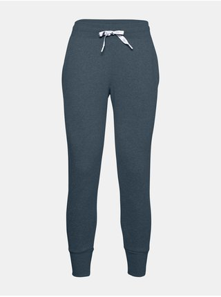Modré kalhoty Under Armour UA Rival Fleece EMB Pant