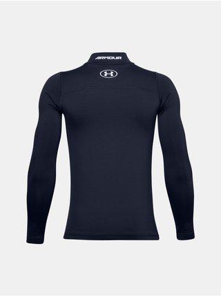 Tmavě modrý tričko Under Armour UA ColdGear Armour Mock