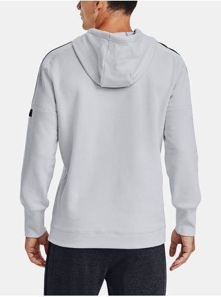Šedá mikina Under Armour Accelerate Off-Pitch Hoodie