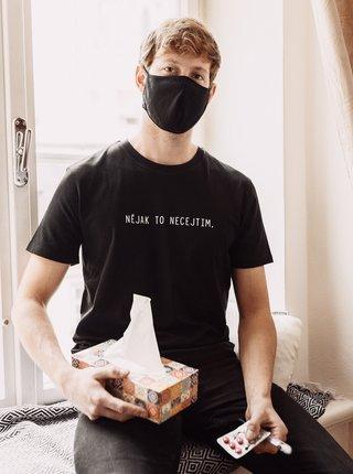 Černé pánské tričko ZOOT Original Nějak to necejtim