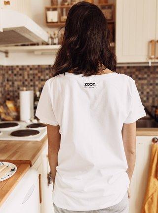 Bílé dámské tričko ZOOT Original Přešla mě chuť