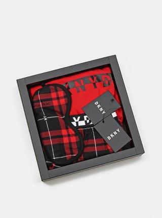 Pyžamká pre ženy DKNY - červená