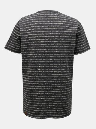 Tričká s krátkym rukávom pre mužov Ragwear - čierna