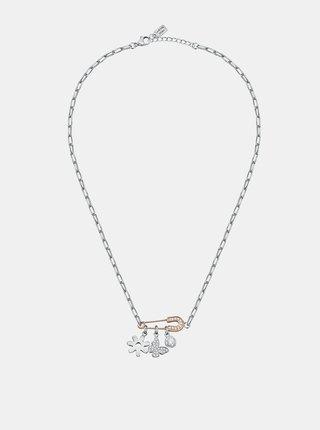 Řetízek ve stříbrné barvě s přívěsky La Petite Story