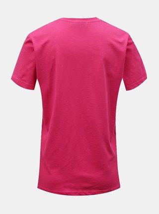 Růžové tričko s potiskem ONLY Gabriella