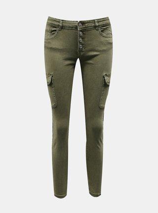 Nohavice pre ženy ONLY - kaki