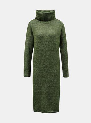 Zelené svetrové šaty VERO MODA Gaiva