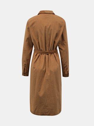 Šaty na denné nosenie pre ženy Jacqueline de Yong - hnedá