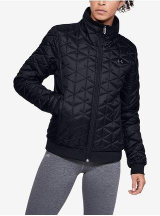 Čierna bunda Under Armour Cg Reactor Performance Jacket