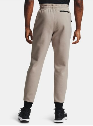 Hnedé nohavice Under Armour Recover Fleece Pant