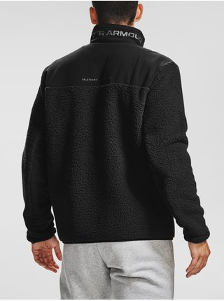 Čierna bunda Under Armour LEGACY SHERPA SWACKET