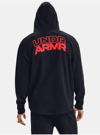 Černá mikina Under Armour UA S5 FLEECE FULL ZIP