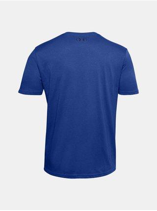 Modré tričko Under Armour UA SPORTSTYLE LOGO SS