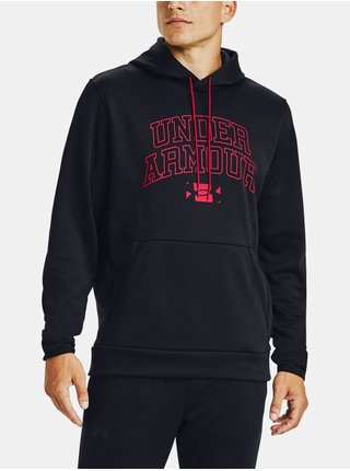 Čierna mikina Under Armour AF Script Graphic HD