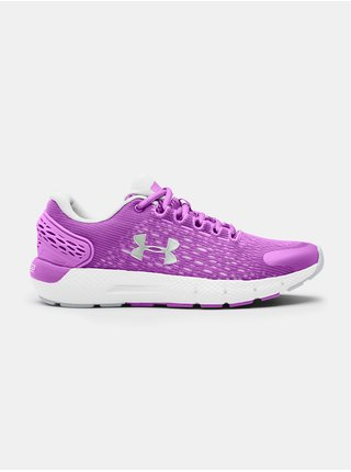 Fialové boty Under Armour GS Charged Rogue 2