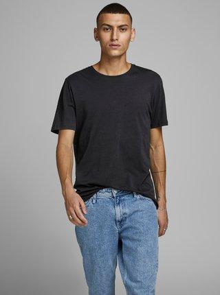 Čierne basic tričko Jack & Jones