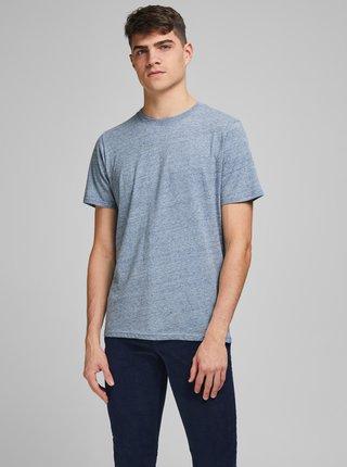 Světle modré žíhané tričko Jack & Jones