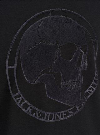 Čierna mikina s potlačou Jack & Jones