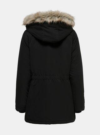 Černá zimní parka Jacqueline de Yong