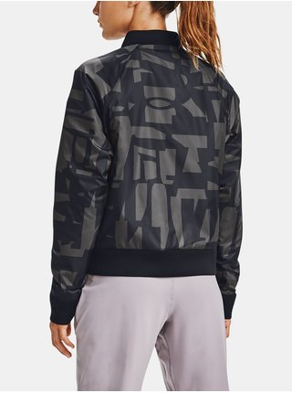 Čierna bunda Under Armour Move Reversible Bomber