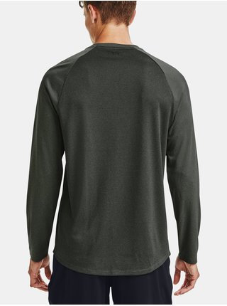 Zelené tričko Under Armour Textured LS