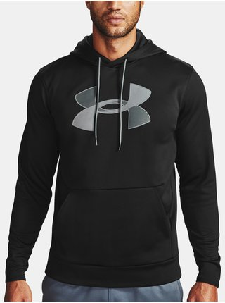Čierna mikina Under Armour Armour Fleece Big Logo HD