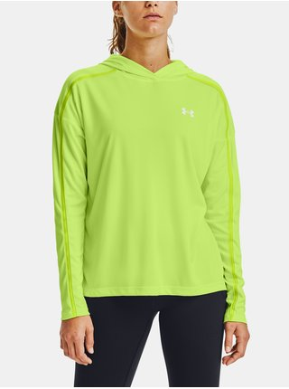 Zelená mikina Under Armour Tech Twist Graphic Hoodie